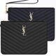 Saint Laurent Black leather women Clutch bag 379039CWU011000