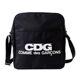 [데일리럭스] 꼼데가르송 CDG 크로스백 블랙 SZ-K201-051-1