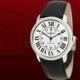 Cartier - 까르띠에 남성 롱드솔로 오토매틱 WSRN0022 블랙가죽시계