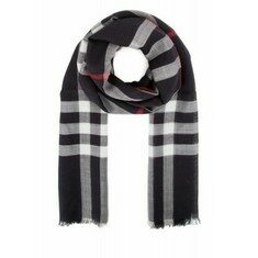 19FW[버버리]Embroidered wool blend scarf _ 3995485 4100B
