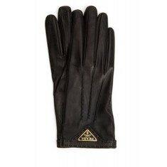 19FW[프라다]Black nappa leather gloves _ 1GG746038 F0002