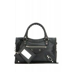 19FW[발렌시아가]Black leather nano City Classic handbag _ 300295D94JN 1000