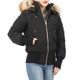 19 F/W 무스너클 여성 SAINTE FLAVIE 봄버 자켓(블랙/골드퍼) M39LB002GH 294