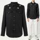 10주년 스타 패치 데님 셔츠 블랙 BM601N5Y01 001