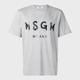MSGM 레터링 로고 티셔츠 1000MM97 100201 96