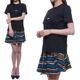[유니코] [엠에스지엠] 20SS 여성 MSGM 로고 반팔 티셔츠 (2841MDM225_207298_99_20S)