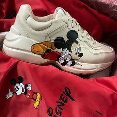 [카도간] 구찌 디즈니 스니커즈 라이톤 Disney x Gucci 미키마우스 602049