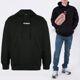19FW 시그니처 오버핏 후드 티셔츠 UAH20TR725 BLACK