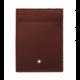 몽블랑 [몽블랑 MONTBLANC] 118312 / 마이스터스튁 4CC 카드지갑(버건디) 공용 카드지갑 홀더