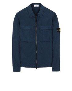 스톤 아일랜드 20SS 투포켓 오버셔츠 S M 마린블루 코튼 남성 캐주얼 자켓 721511102-V0028