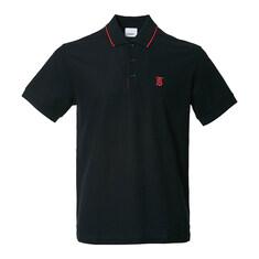[라벨루쏘] [버버리] 아이콘 스트라이프 플래킷 피케 셔츠 8017003 M WALTON A1189