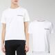 20SS 톰브라운 포켓 삼선 반팔 티셔츠 화이트 MJS010A