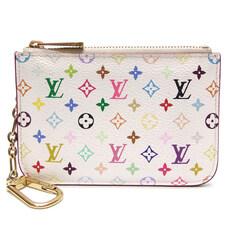 Louis Vuitton(루이비통) M93734 모노그램 멀티 화이트 키홀더 카드 동전지갑