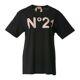 [라벨루쏘] [N21] 로고 반팔 티셔츠 F0526314 9000