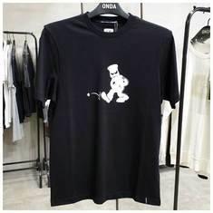 씨피컴퍼니 남성 티셔츠 08CMTS283A 005318W 999