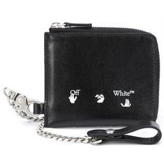 20FW 오프화이트 로고 프린트 지갑 OMNC013E20LEA002