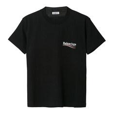 발렌시아가 웨이브로고 반팔 티셔츠 612964 TIV52 1070 SS20/