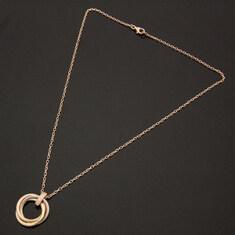 Cartier(까르띠에) B7058700 5P 다이아몬드 18K 트리니티 목걸이
