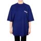 발렌시아가 20SS 블루 웨이브 로고 오버 티셔츠 620941 TIV52 1195