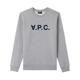 A.P.C. 아페쎄 VPC 로고 맨투맨 그레이 COECQ-H27378