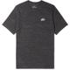 나이키 NSW 헤리티지 LBR 로고-아플리케 멜란지 코튼블렌드 저지 티셔츠
