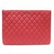 Chanel(샤넬) A82552 클래식 금장 로고 피치 캐비어 라지 클러치(22번대)
