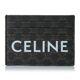 21SS 셀린느 블랙 트리오페 로고 카드 홀더 10D792CQ4 38NO