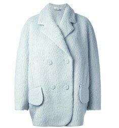 Carven - [패셔니어] Blue Hairy Coat