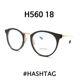 | Other Brand | HASHTAG - 해시태그 안경 HASHTAG H560 18 티타늄 안경