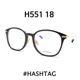 | Other Brand | HASHTAG - 해시태그 안경 HASHTAG H551 18 티타늄 안경