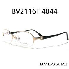 BVLGARI -  BVLGARI 불가리 안경 BV2116T 4044 블랙 반무테