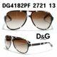 Dolce&Gabbana - D&G 돌체앤가바나 선글라스 DG4182 2721 13 브라운 패