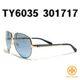 Tory Burch - 토리버치선글라스 TY6035 301717 블루금속 2014신상품 6035
