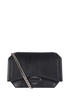 Givenchy - 16FW 지방시 보우컷 블랙 체인 숄더백