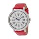 Carati Red Strap Double Layer Diamond Watch