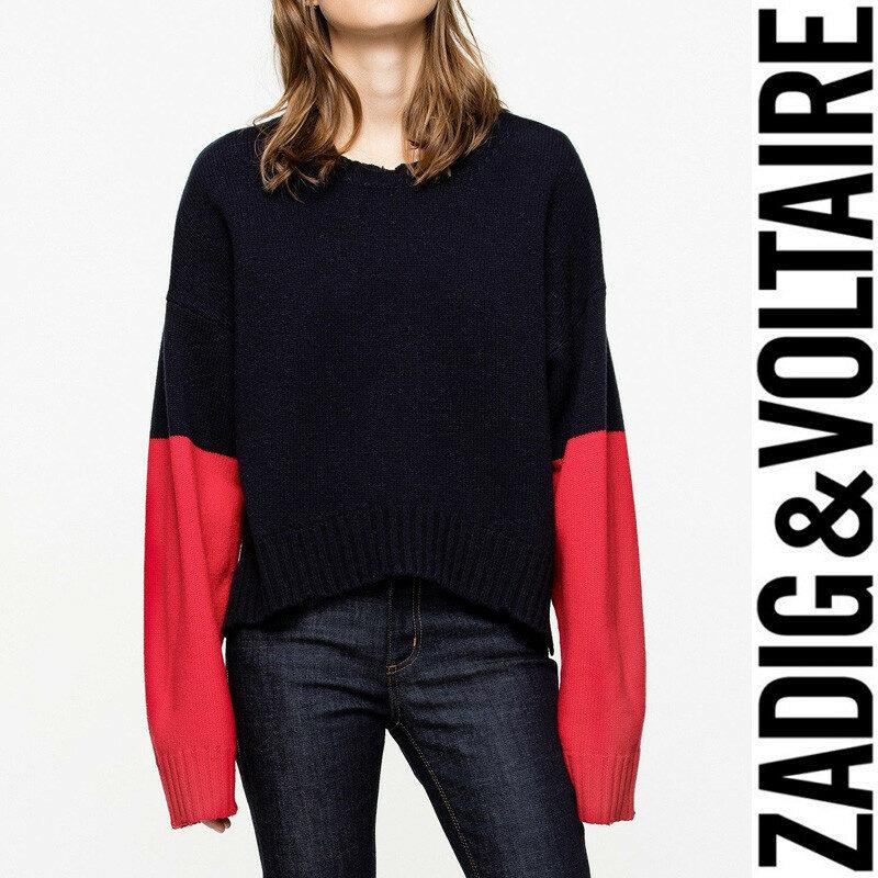 8e9becd13d1 Zadig&Voltaire - [쟈딕앤볼테르] Clarys 메리노 스웨터 - 리본즈 코리아 ...