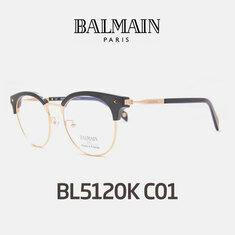 Balmain - 발망안경 발망 BL5120k C01 검정 정품 보증서포함풀세트