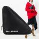 Balenciaga - 18SS 트라이앵글 포셰트 클러치백 블랙 476976 C8K02 1000