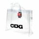 Comme des Garcons - [18SS/한정판] CDG 꼼데가르송 PVC 가방