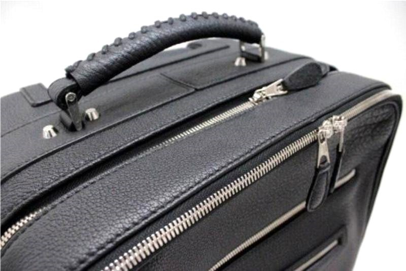 AUTHENTIC BALENCIAGA TROLLEY Travel Bag Black 272476 - 리본즈 코리아 ... 805b89db61