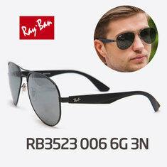Ray Ban - RB3523 006 6G 3N 블랙미러레즈 RAYBAN 레이밴 3523