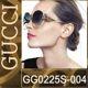 GUCCI - 구찌여성선글라스 블루 GG0225S 004 63-17-130mm