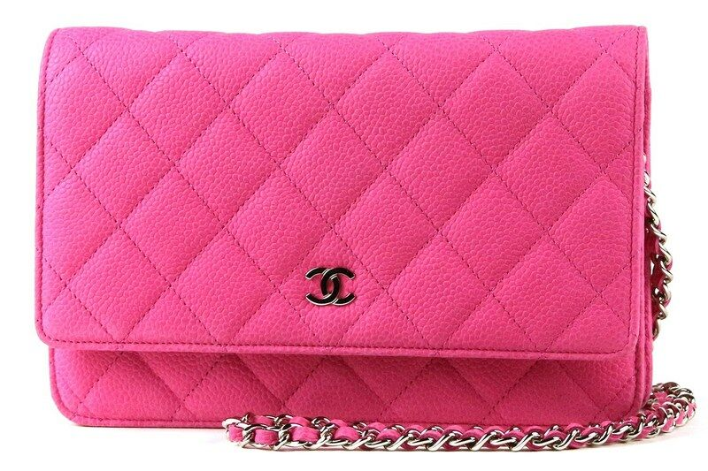 c2a1a07dfd6a Chanel/Matelasse Wallet On Chain/Calf Leather/Pink/A33814 - 리본즈 ...