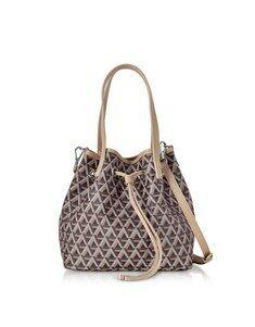 Ikon Small Top Handles Bucket Bag