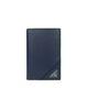 PRADA -  프라다 2MC101 마이크로그레인 네이비 삼각로고 카드지갑