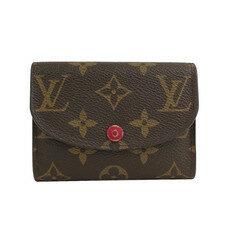 중고 Louis Vuitton - 루이비통 모노그램 캔버스 플랩 반지갑 노블하우스