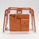 중고 FENDI - 뉴욕명품/ 7AR717 PU 오렌지 레더 피카부 미니 커버 디펜더