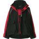 중고 Balenciaga - (세일) 발렌시아가 신상 블랙 레드 브레드 트리플S C컬 쉘파카 자켓
