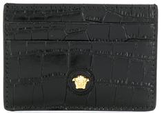 Versace - -★국내배송★ - 19FW 베르사체 크로커다일 카드지갑