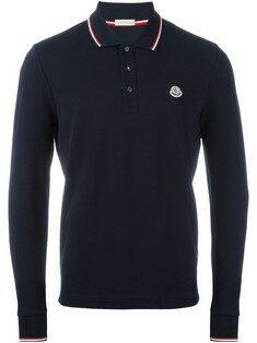 Moncler - 19FW 몽클레어 로고 네이비 폴로 티셔츠